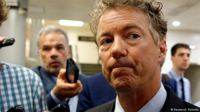 Senator Rand Paul in Washington (Reuters/J. Roberts)