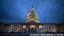 Capitol Hill in der Nacht