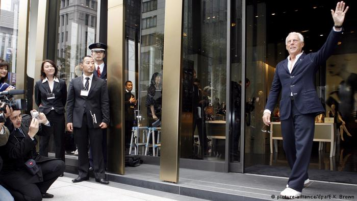 A public school in Tokyo is introducing Giorgio Armani uniforms