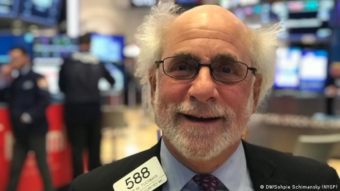 USA New York Wall Street-Händler (DW/Sohpie Schimansky (NYGP))
