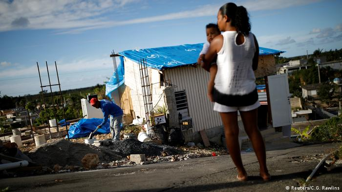 Porto Riko 9 ay önce yaşanan Maria kasırgasının yarattığı enkazdan halen tam olarak çıkamadı.