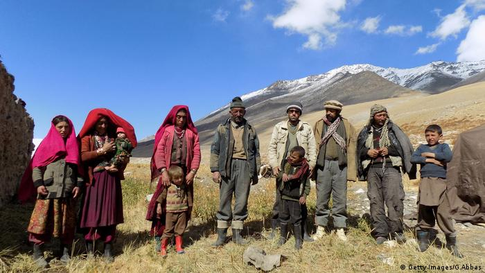 Afghanistan Wakhan Nomaden Familie (Getty Images/G.Abbas)