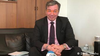 Deutscher Botschafter im Kosovo Christian Heldt (DW/B. Shehu)