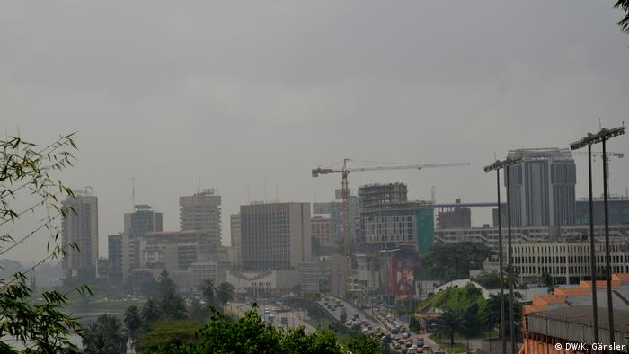 Skyline of Abidjan