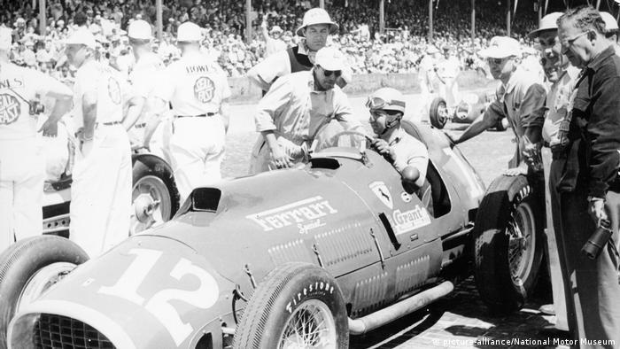 Так выглядела модель 1952 года, на которой гонщик Ferrari впервые завоевал титул чемпиона мира.