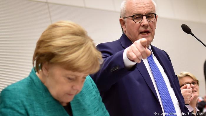 Merkel and Kauder
