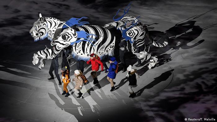 BG Pyeongchang 2018 Eröffnung (Reuters)