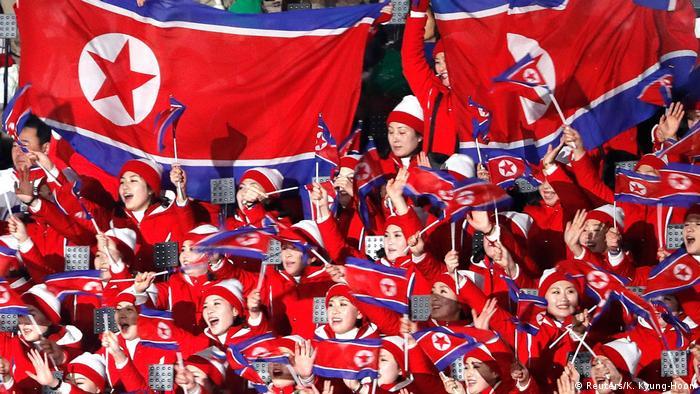 BG Pyeongchang 2018 Eröffnung