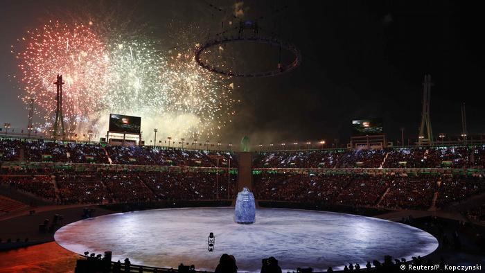 BG Pyeongchang 2018 Eröffnung (Reuters/P. Kopczynski)