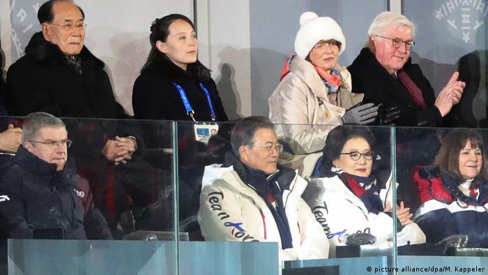 Pyeongchang 2018 Eröffnungsfeier (picture alliance/dpa/M. Kappeler)