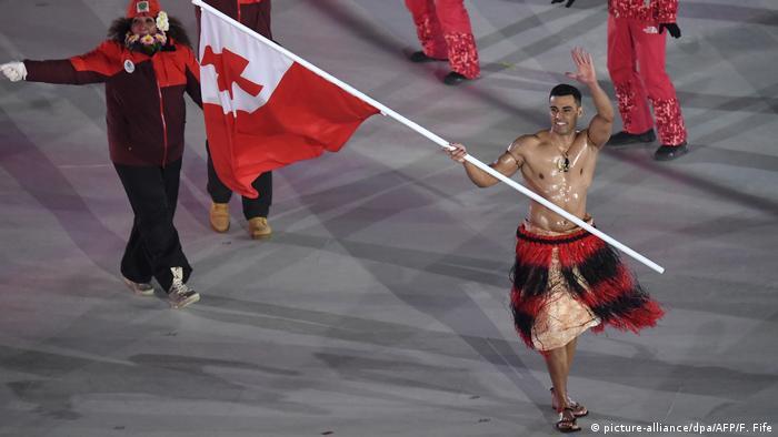 Südkorea Pyeongchang 2018 - Eröffnungsfeier (picture-alliance/dpa/AFP/F. Fife)