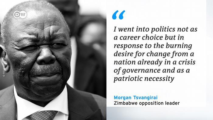 Morgan Tsvangirai quote