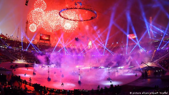 A cerimônia de abertura dos Jogos Olímpicos de Pyeongchang 2018