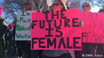 USA - Women's March 2018 Washington DC