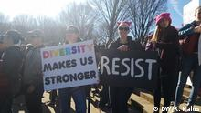 USA - Women's March 2018 Washington DC
