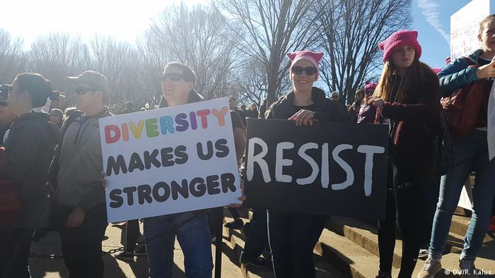 USA - Women's March 2018 Washington DC (DW/R. Kalus)