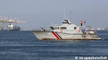 Jemen Küstenwache im Hafen von Aden