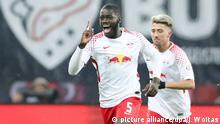 Fussball Bundesliga RB Leipzig vs Augsburg - Tor 1:0