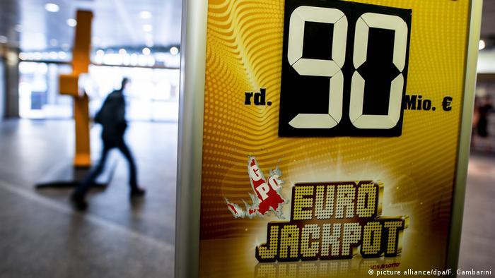 90 Millionen Eurojackpot Geknackt Aktuell Europa Dw 09022018