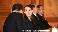 Südkorea Seoul Treffen von Kim Yo Jong, Ri Son Gwon