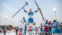 Olympische Winterspiele 2018 in Südkorea Charlotte Kalla
