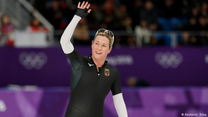 Olympische Winterspiele 2018 in Südkorea Eisschnelllauf Claudia Pechstein (Reuters/J. Silva)
