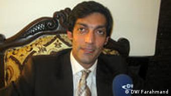 قربان حقجو رئیس عامل اتاق های تجارت و صنایع افغانستان.