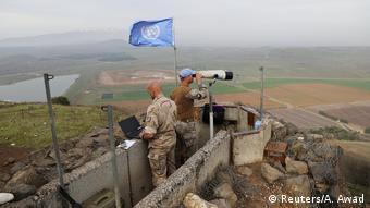 Israel Golan-Höhen UN Soldaten (Reuters/A. Awad)