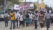 Mosambik Demonstration in Quelimane |