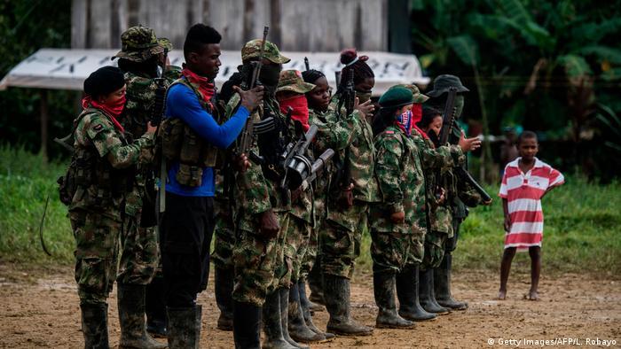 Kolumbien ELN-Kämpfer (Getty Images/AFP/L. Robayo)