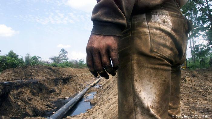 Kolumbien Ölleitung Cano Limon