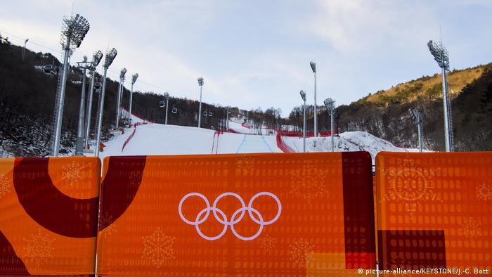Olympische Winterspiele 2018 in PyeongChang   Abfahrtsstrecke