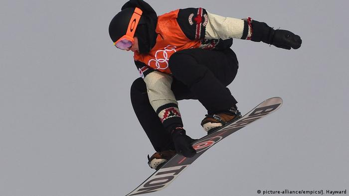 Olympische Winterspiele 2018 in PyeongChang | Snowboard (picture-alliance/empics/J. Hayward)