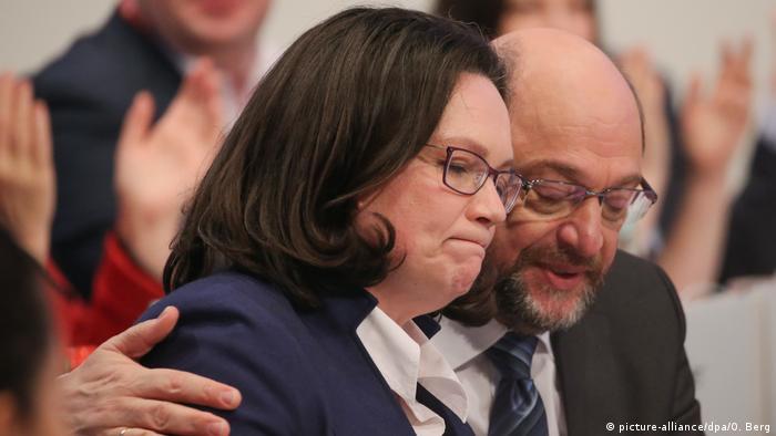 Martin Schulz şi Andrea Nahles