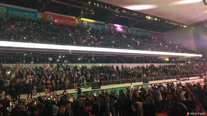 Türkei Ankara - Konress der Peoples' Democratic Party (HDP)