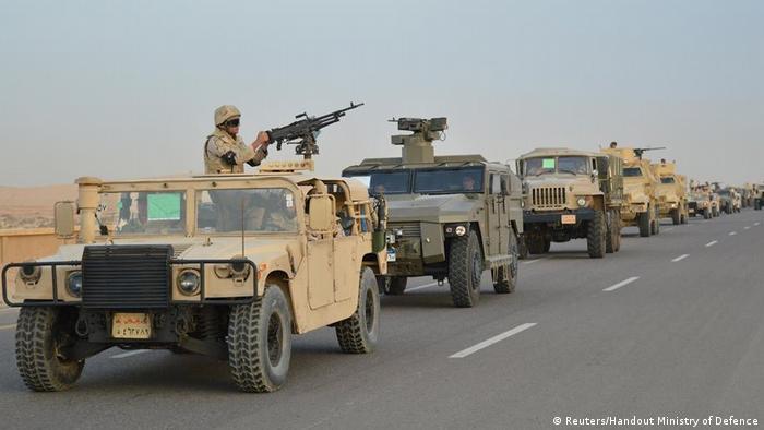 Ägypten Anti-Terror-Einsatz auf der Sinai Halbinsel (Reuters/Handout Ministry of Defence)