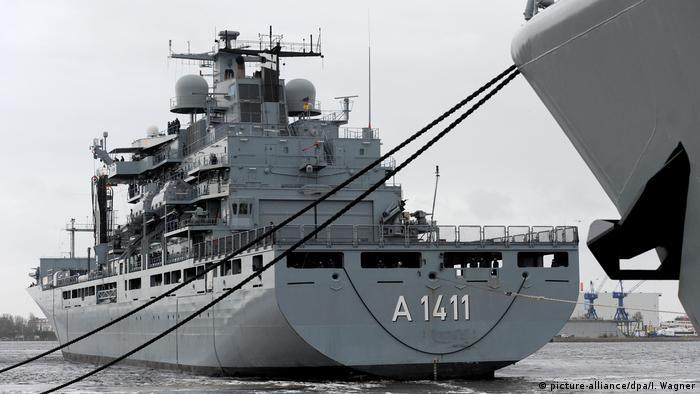 The EGV-Berlin in dock