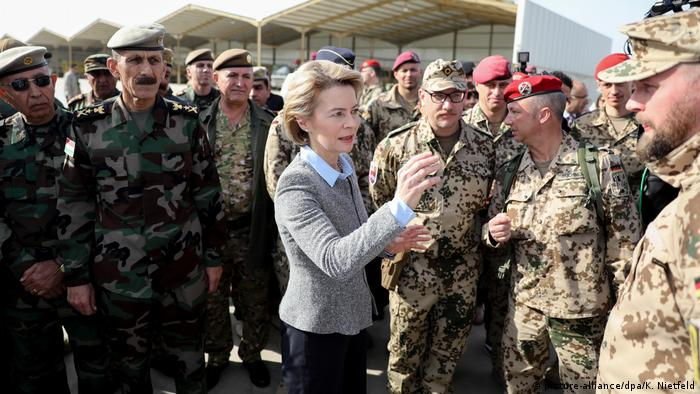 Бундесвер будет посредничать в конфликте Багдада с курдами