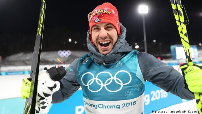 Pyeongchang 2018 - Biathlon Arnd Peiffer (picture-alliance/dpa/M. Kappeler)