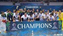 Taiwan Teipei - Iran gewinnt Hallenfussball