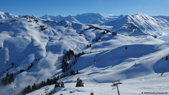 Schweiz Reportage Gstaat | Berge