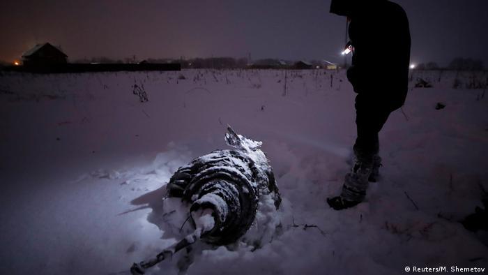 Russland Flugzeugabsturz (Reuters/M. Shemetov)