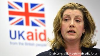 Uk Oxfam-Sex-Skandal | Penny Mordaunt ARCHIV (picture alliance/empics/N. Ansel)