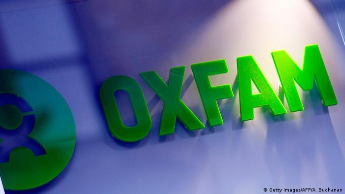 Uk Oxfam-Sex-Skandal   Logo (Getty Images/AFP/A. Buchanan)