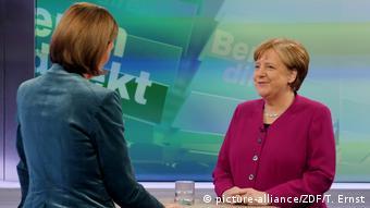 Ангела Меркель в интервью ZDF 11 февраля