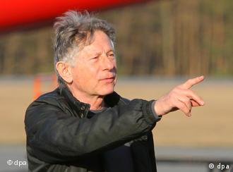 Roman Polanski directing The Ghost in Usedom, Germany