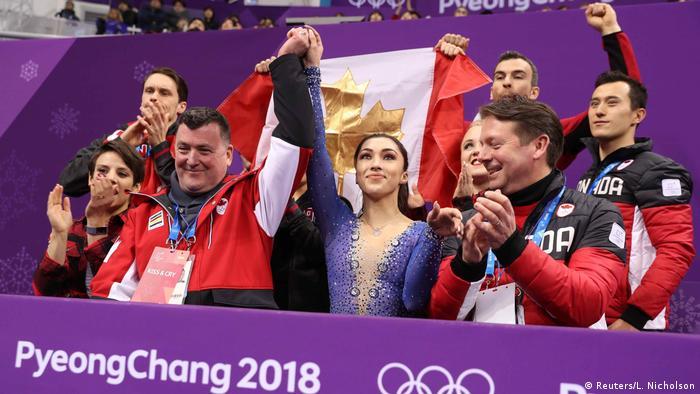 Olympische Winterspiele 2018 in PyeongChang | Eiskunstlauf - Gold für Team Kanada (Reuters/L. Nicholson)