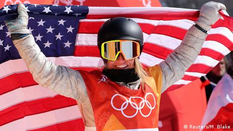 Olympische Winterspiele 2018 in PyeongChang | Slopestyle -Frauen -Jamie Anderson (USA) (Reuters/M. Blake)