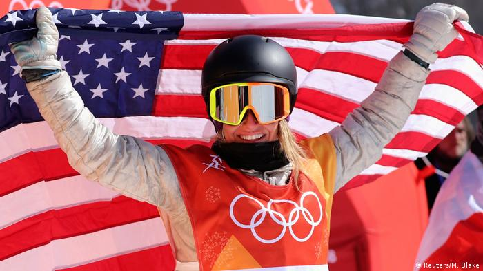 Olympische Winterspiele 2018 in PyeongChang | Slopestyle -Frauen -Jamie Anderson (USA) (Reuters/M. Blake)