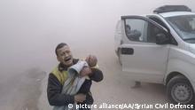 Syrische Armee setzt Beschuss von Ost-Ghouta fort